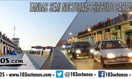Tandas para coches en el Circuito de Cartagena 9 Julio