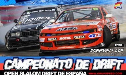 4ª Ronda Open Slalom Drift 2 y 3 Julio Circuito de Navarra